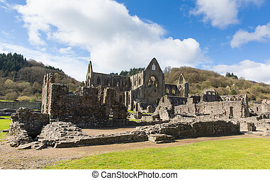 Tintern Abbey tourist attraction uk - Tintern Abbey...