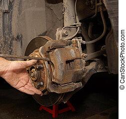 Disk brake repair