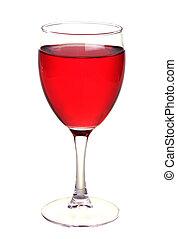 White wine in a wine glass