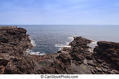 The coast of lava stone, Catania - The coast of lava stone...