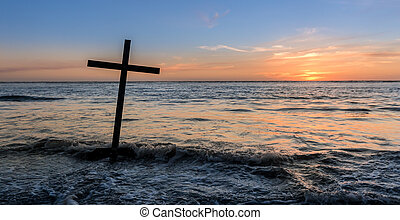 Salvation Cross Water