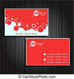 business cards set 24