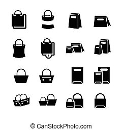 Shopping Bags Set design