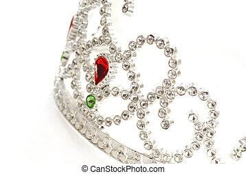 tiara or crown details