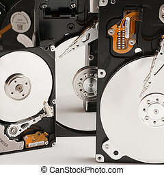 details of hard disk drive open