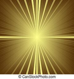 vector, patrón, textura, -, oro