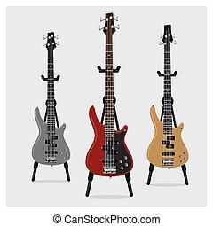 Vector Electric Bass Guitar