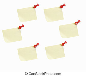 sticky note flow chart - sticky notes in a circle - good for...
