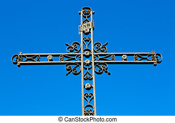 catholic abstract sacred background - abstract cross in...