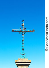 catholic abstract italy europe and the sky - abstract cross...