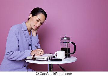 Working coffee break