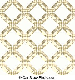 Modern Vector Seamless Dotted Pattern - Geometric repeating...