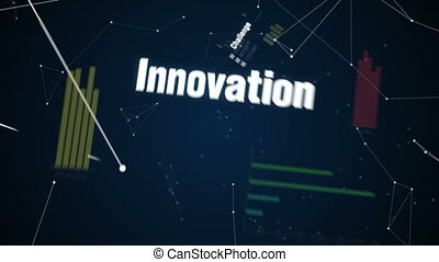 Text animation ' VENTURE CAPITAL' - Challenge, Innovation,...