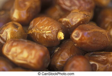 AFRICA EGYPT SAHARA SIWA OASIS - dates at the market in the...
