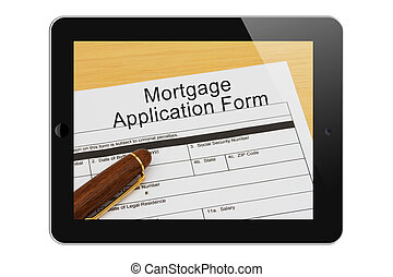 Applying for your mortgage on the Internet