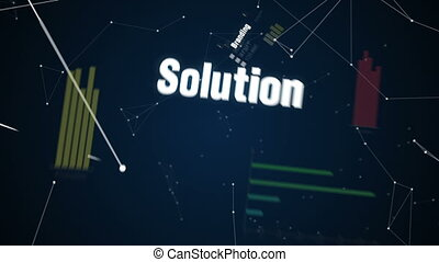Text animation CORPORATE STRATEGY - Branding, Solution,...