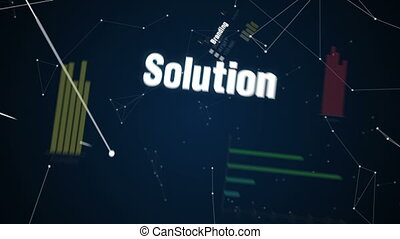 Text animation Marketing Plan - Branding, Solution,...