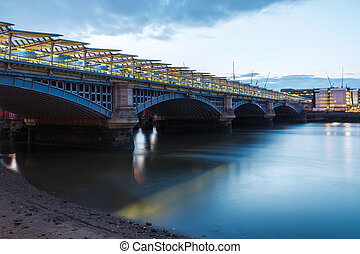Blackfriars Railway Bridge - London Blackfriars national...