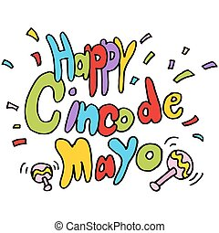 Happy Cinco De Mayo text message - An image of a Happy Cinco...