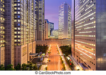 Tokyo Government Buildings - Tokyo, Japan government...