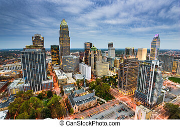 Charlotte North Carolina - Charlotte, North Carolina, USA...