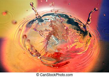 Vivid Water Splash
