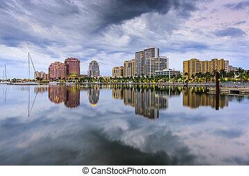 West Palm Beach Florida - West Palm Beach, Florida, USA...