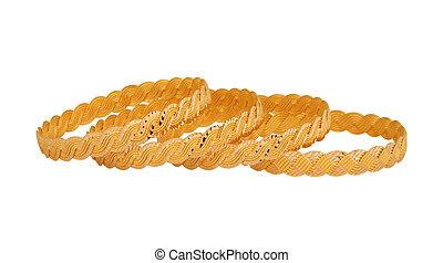 oro, Bracelets, ,