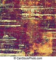Vintage texture or antique background with grunge decorative...