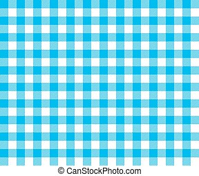 blue table cloth background seamless pattern