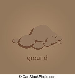 ground vector illustration