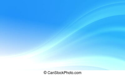 Soft Blue Background Loop - Dream lights, abstract soft...