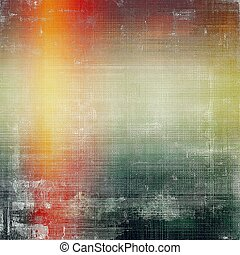 Grunge texture, aged or old style background with retro...