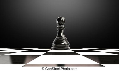 Put the queen on a chessboard 2 - Put the chess piece on a...