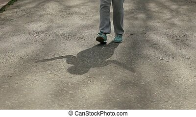 Girl Skipping Rope Nice Exercise Play.