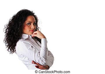 Latina business woman
