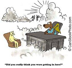 Spite - Cartoon about spite.