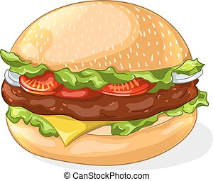 Hamburger icon. Vector illustration