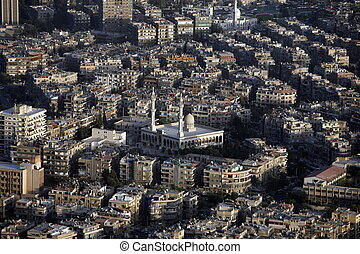 MIDDLE EAST SYRIA DAMASKUS CITY CENTRE - the city centre of...