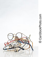 bunch of unneeded glasses to recycle to Third World - bunch...
