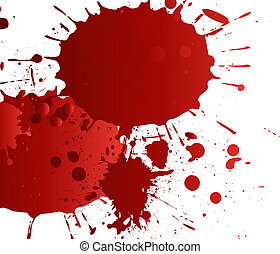 blood splat