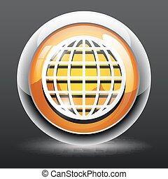 Globe Icon, Globe Icon