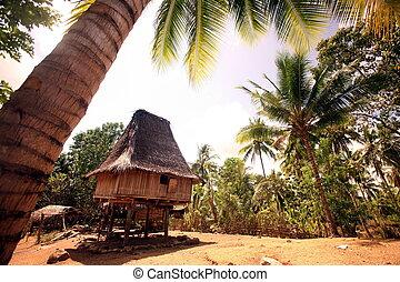 ASIA EAST TIMOR TIMOR LESTE LOSPALOS HOUSE