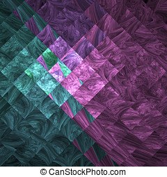 Abstract crazy wallpaper - Abstract crazy fractal shapes as...