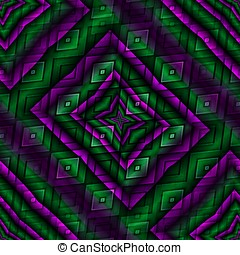 Crazy psychedelic background - Abstract insane psychedelic...