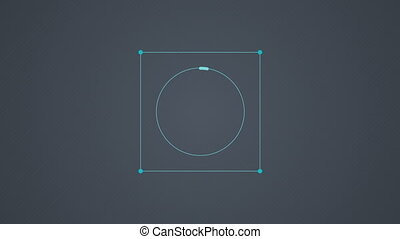 4 Conclusion circle diagram chart. - Conclusion circle...