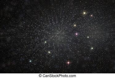 Leo, constelação, Ilustração,  3D