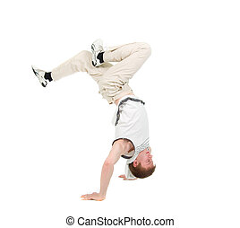 hip hop dancerbreakdance - cool hip hop style...