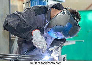 a focused welder