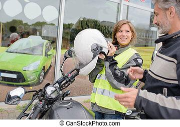 motorbike learner